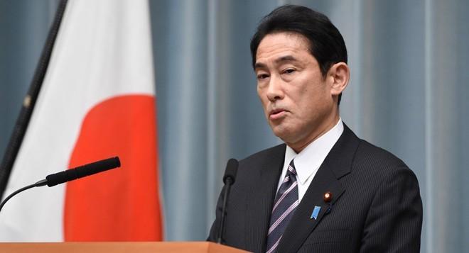 Ngoại trưởng Nhật Bản Fumio Kishida. Ảnh: Getty