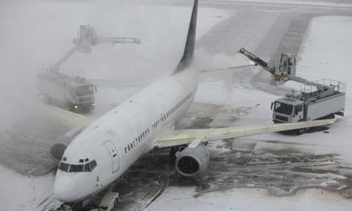 Bão tuyết hoành hành ở Mỹ khiến hàng nghìn chuyến bay bị hủy. Ảnh minh họa: Flight Centre
