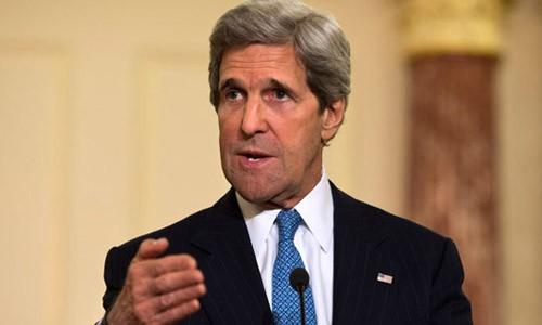 Ngoại trưởng Mỹ John Kerry. Ảnh: AP