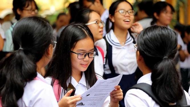 Các em học sinh chuẩn bị cho kỳ thi tuyển sinh vào lớp 10. Ảnh: kenhtuyensinh