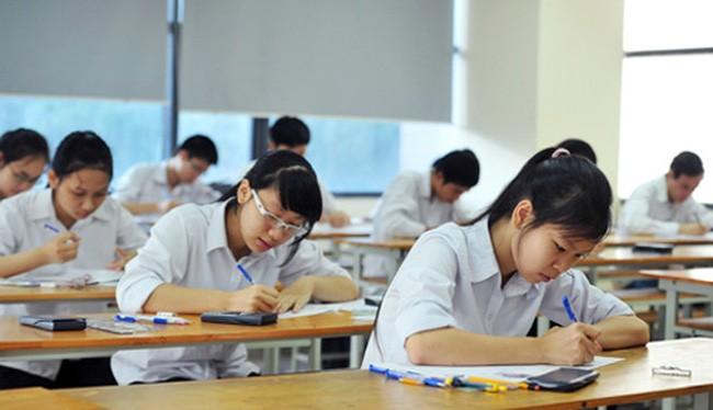 Học sinh thi THPT quốc gia (Ảnh minh họa)