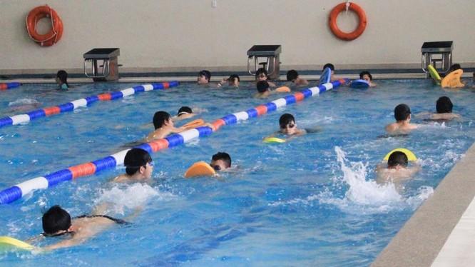 Trẻ em sẽ được học bơi miễn phí từ ngày 27/5-27/6