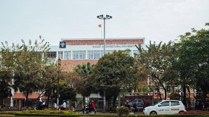 Trường ĐH Kiến trúc Hà Nội