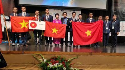 Đoàn Việt Nam đạt giải cao tại kỳ thi IOAA 2019