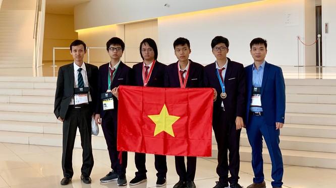 Đội tuyển quốc gia Việt Nam tại kỳ thi Olympic Tin học quốc tế lần thứ 31 năm 2019.