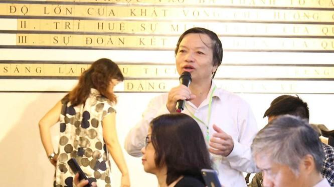 Nhà nghiên cứu văn học và ngôn ngữ, cựu Ủy viên Ban chấp hành Hội ngôn ngữ học Việt Nam - Đào Tiến Thi. Ảnh: Nhân vật cung cấp.