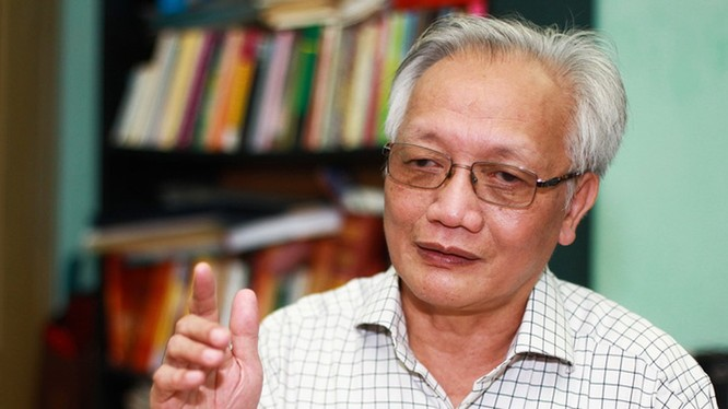 TS Nguyễn Tùng Lâm - Chủ tịch Hội Tâm lý giáo dục Hà Nội. Ảnh: Nguyễn Khánh