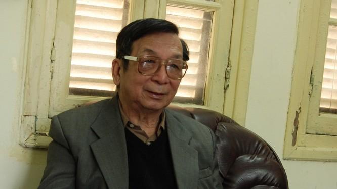 GS. TS. Trần Lâm Biền (Ảnh: Quyên Quyên)