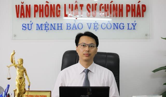 Luật sư Đăng Văn Cường – Văn phòng luật sư Chính Pháp, Hà Nội