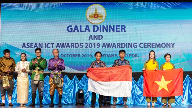 Giải pháp mạng xã hội học tập trực tuyến ViettelStudy được vinh danh giải vàng chung cuộc tại vòng chung khảo giải thưởng Asean ICT Awards (AICTA) 2019.