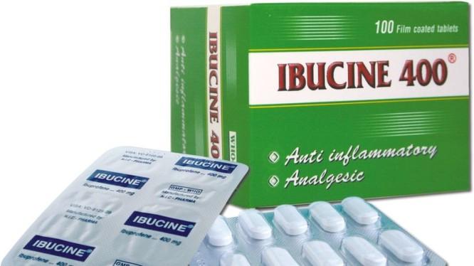 Thuốc Ibucine 400