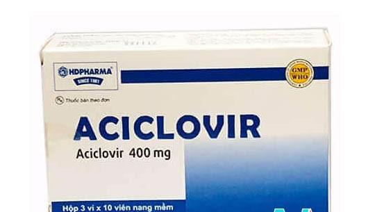 Thuốc Aciclovir 400mg