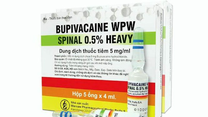 Thuốc Bupivacaine WPW Spinal Heavy 0,5%