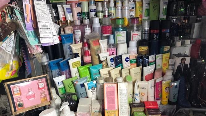 Các sản phẩm mỹ phẩm được bày bán trên thị trường. Ảnh: Internet
