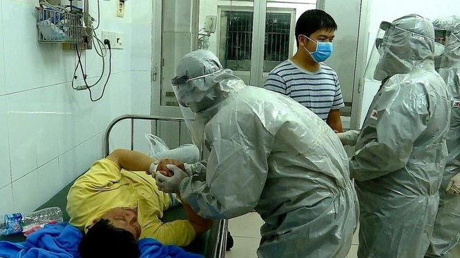 Bệnh nhân nghi nhiễm nCoV được theo dõi tại Bệnh viện Chợ Rẫy, TP. Hồ Chí Minh. Ảnh: Bệnh viện Chợ Rẫy