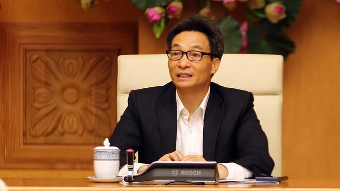 Phó Thủ tướng Vũ Đức Đam. Ảnh: VGP/Đình Nam