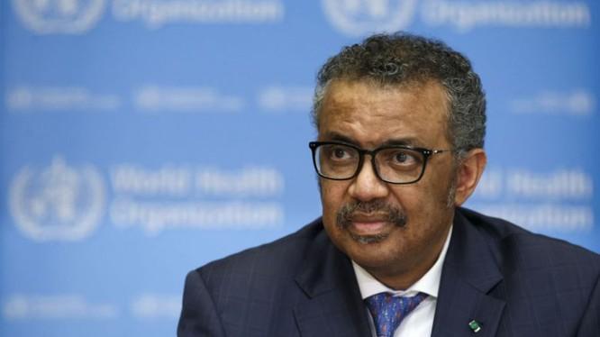 Ông Tedros Adhanom Ghebreyesus – Tổng Giám đốc WHO. Ảnh: EPA-EFE