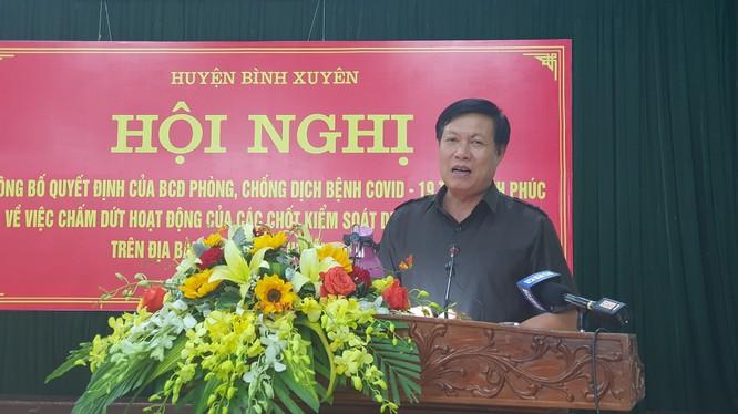 Thứ trưởng Bộ Y tế Đỗ Xuân Tuyên. Ảnh: Tuấn Dũng - BYT