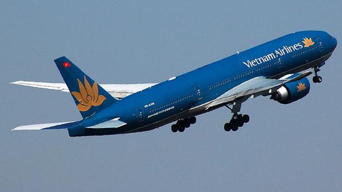 Một tiếp viên trên chuyến bay VN0054 dương tính lần 1 với COVID-19. Ảnh: VNA