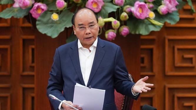 Thủ tướng Chính phủ Nguyễn Xuân Phúc. Ảnh: Lê Châu/VGP