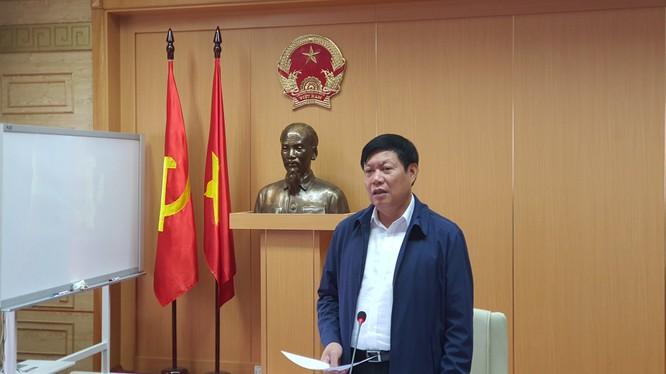 Thứ trưởng Bộ Y tế Đỗ Xuân Tuyên. Ảnh: Tuấn Dũng