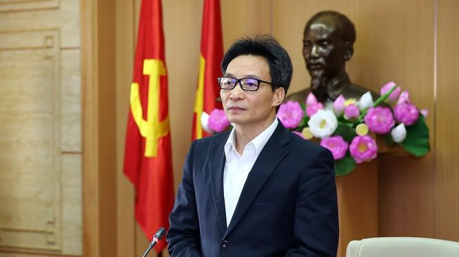 Phó Thủ tướng Vũ Đức Đam. Ảnh: Đình Nam - VGP