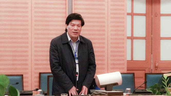 Ông Nguyễn Nhật Cảm – Giám đốc Trung tâm kiểm soát Bệnh tật TP. Hà Nội. Ảnh: UBND TP. Hà Nội