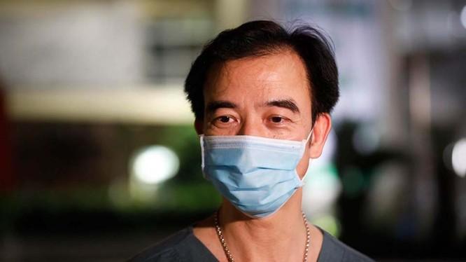 GS. TS. Nguyễn Quang Tuấn – Giám đốc Bệnh viện Bạch Mai. Ảnh: Phong Sơn