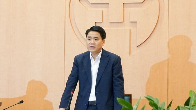 Ông Nguyễn Đức Chung - Chủ tịch UBND TP. Hà Nội. Ảnh: UBND TP. Hà Nội