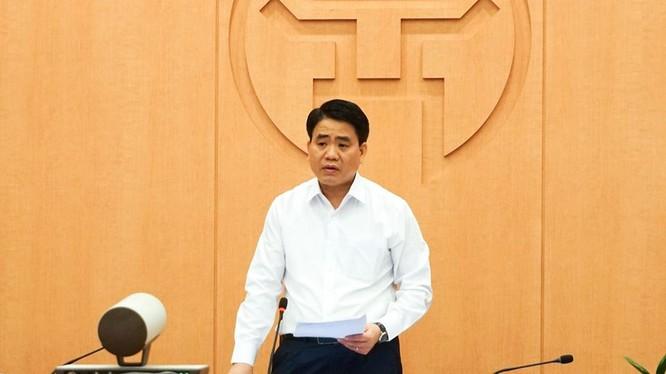 Ông Nguyễn Đức Chung – Chủ tịch UBND TP. Hà Nội. Ảnh: UBND TP. Hà Nội