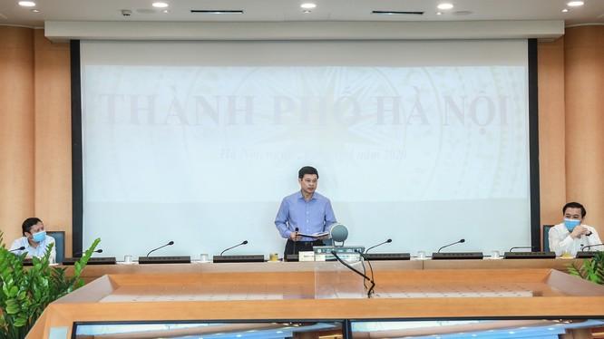 Ông Ngô Văn Quý - Phó Chủ tịch UBND TP. Hà Nội. Ảnh: Nguyễn Khánh