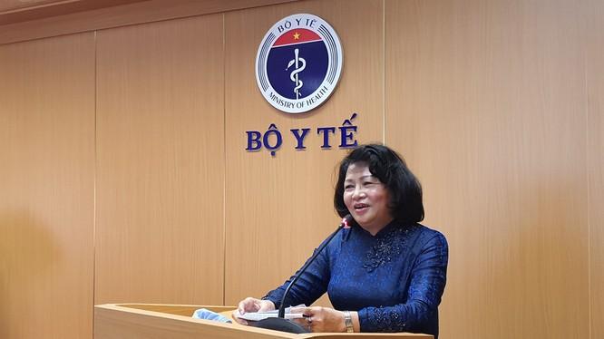 Phó Chủ tịch nước Đặng Thị Ngọc Thịnh. Ảnh: Tuấn Dũng
