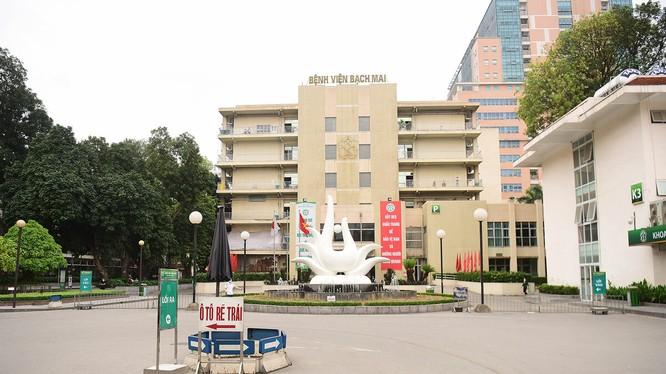 Bệnh viện Bạch Mai (Ảnh: BVCC)