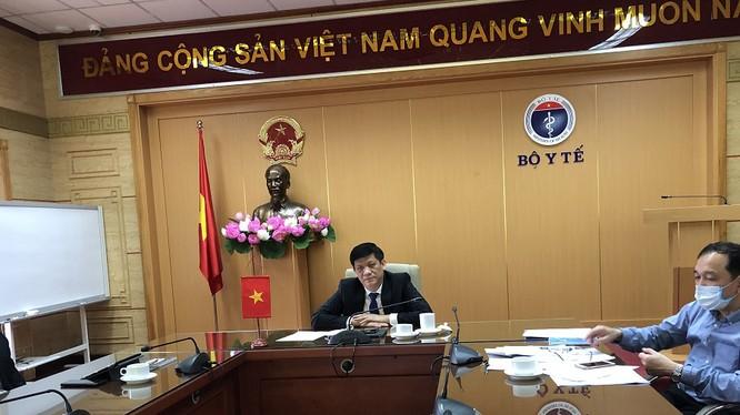 Thứ trưởng Thường trực Bộ Y tế Nguyễn Thanh Long. Ảnh: Thu Phương