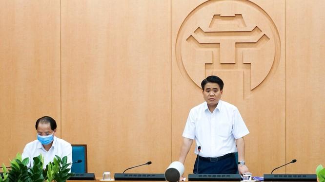 Ông Nguyễn Đức Chung - Chủ tịch UBND TP. Hà Nội. Ảnh: Nguyễn Khánh