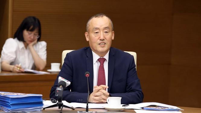 TS. Kidong Park – Trưởng đại diện WHO tại Việt Nam. Ảnh: Đình Nam
