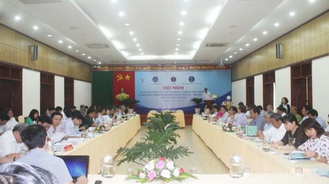 Hội nghị giao ban công tác y tế dự phòng 6 tháng đầu năm 2020 và triển khai chiến dịch tiêm vaccine bạch hầu khu vực Tây Nguyên (Ảnh: Thu Nguyệt)