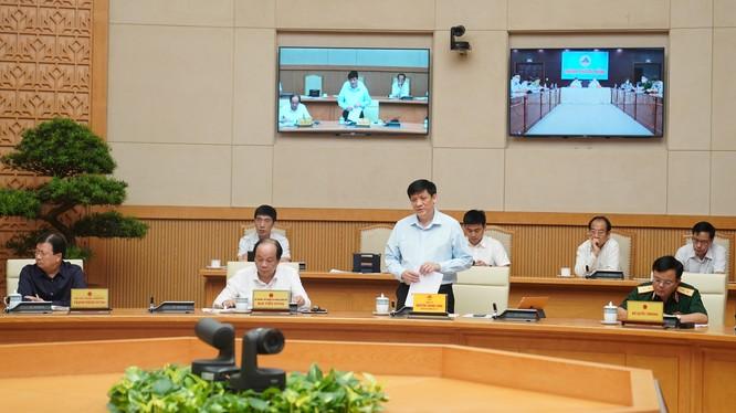 Quyền Bộ trưởng Bộ Y tế Nguyễn Thanh Long (Ảnh: VGP/Quang Hiếu)