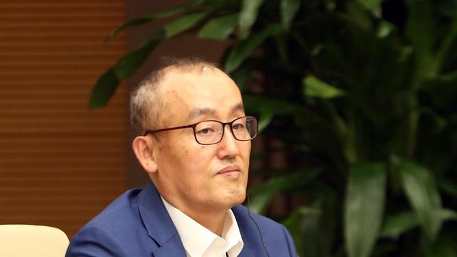 TS. Kidong Park - Trưởng đại diện Tổ chức Y tế Thế giới (WHO) tại Việt Nam (Ảnh: VGP/Đình Nam)