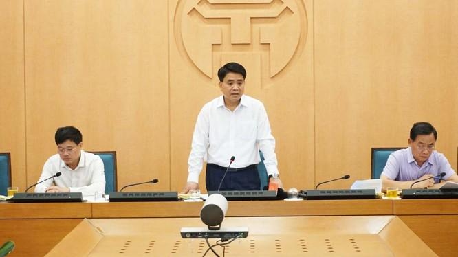 Ông Nguyễn Đức Chung - Chủ tịch UBND TP. Hà Nội (Ảnh: UBND TP. Hà Nội)