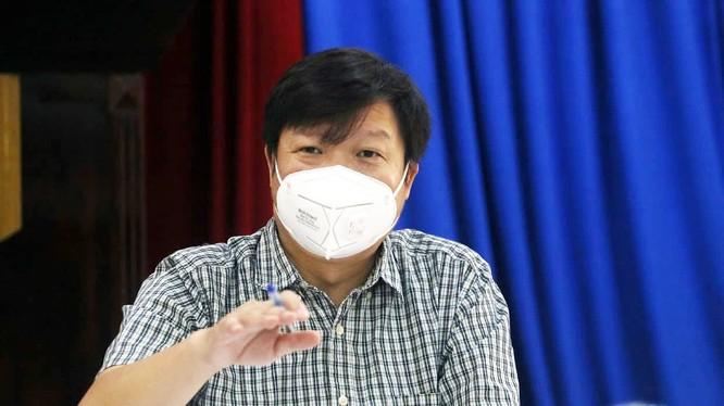 PGS. TS. Trần Như Dương - Phó Viện trưởng Viện Vệ sinh Dịch tễ Trung ương (Ảnh: Lê Bảo, Minh Thùy)