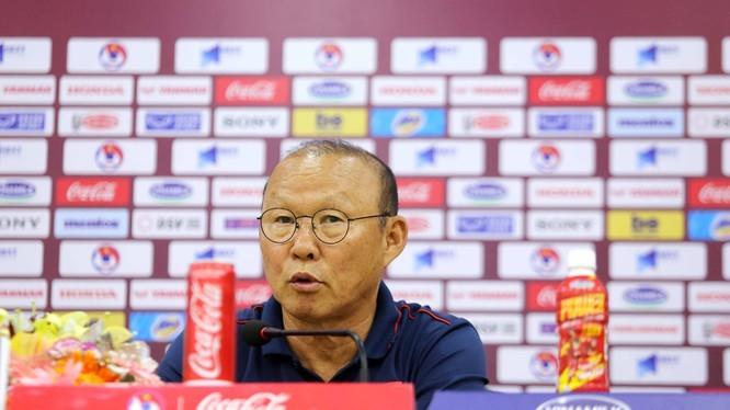 Huấn luyện viên Park Hang Seo. (Ảnh: vntintuc.net)