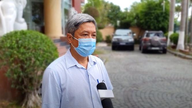Thứ trưởng Bộ Y tế Nguyễn Trường Sơn (Ảnh: Tuấn Dũng)
