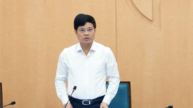 Ông Ngô Văn Quý – Phó Chủ tịch UBND TP. Hà Nội chỉ đạo cuộc họp Ban Chỉ đạo phòng, chống dịch COVID-19 TP. Hà Nội (Ảnh: Phú Khánh)