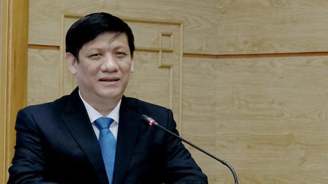 Quyền Bộ trưởng Bộ Y tế Nguyễn Thanh Long (Ảnh: Vũ Mạnh Cường)