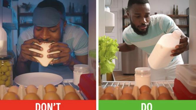 Uống sữa giúp bạn giảm cân (Ảnh: Brightside)