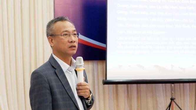 Ông Mai Trung Sơn – Phó Vụ trưởng Vụ Quy mô dân số - Kế hoạch hóa gia đình (Ảnh: Thảo Vy)