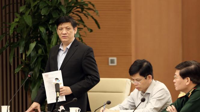 Ông Nguyễn Thanh Long – Bộ trưởng Bộ Y tế (Ảnh: Đình Nam - VGP)