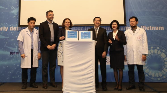 Lần đầu tiên phần mềm chẩn đoán ung thư vú qua hình ảnh đã được ra mắt (Ảnh: BTC)