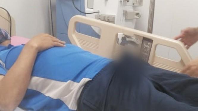 Quý ông bị cương dương 30 giờ đến bệnh viện để điều trị (Ảnh: BVCC)